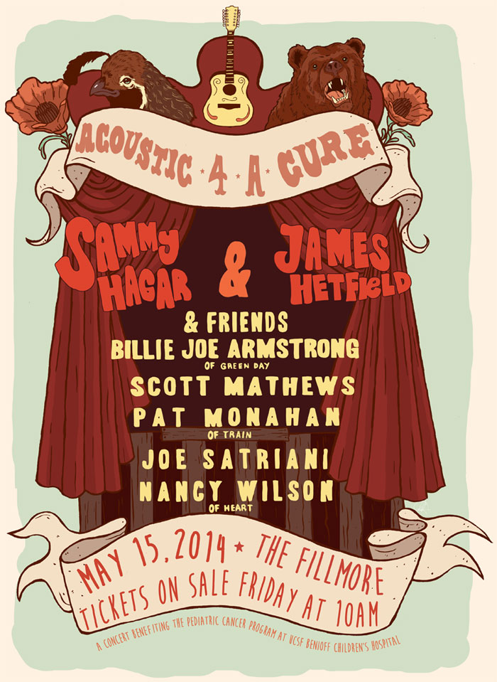 Acoustic-4-A-Cure 2014 Poster